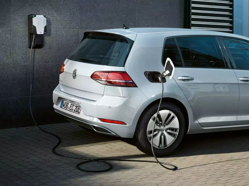 e-Golf en recharge