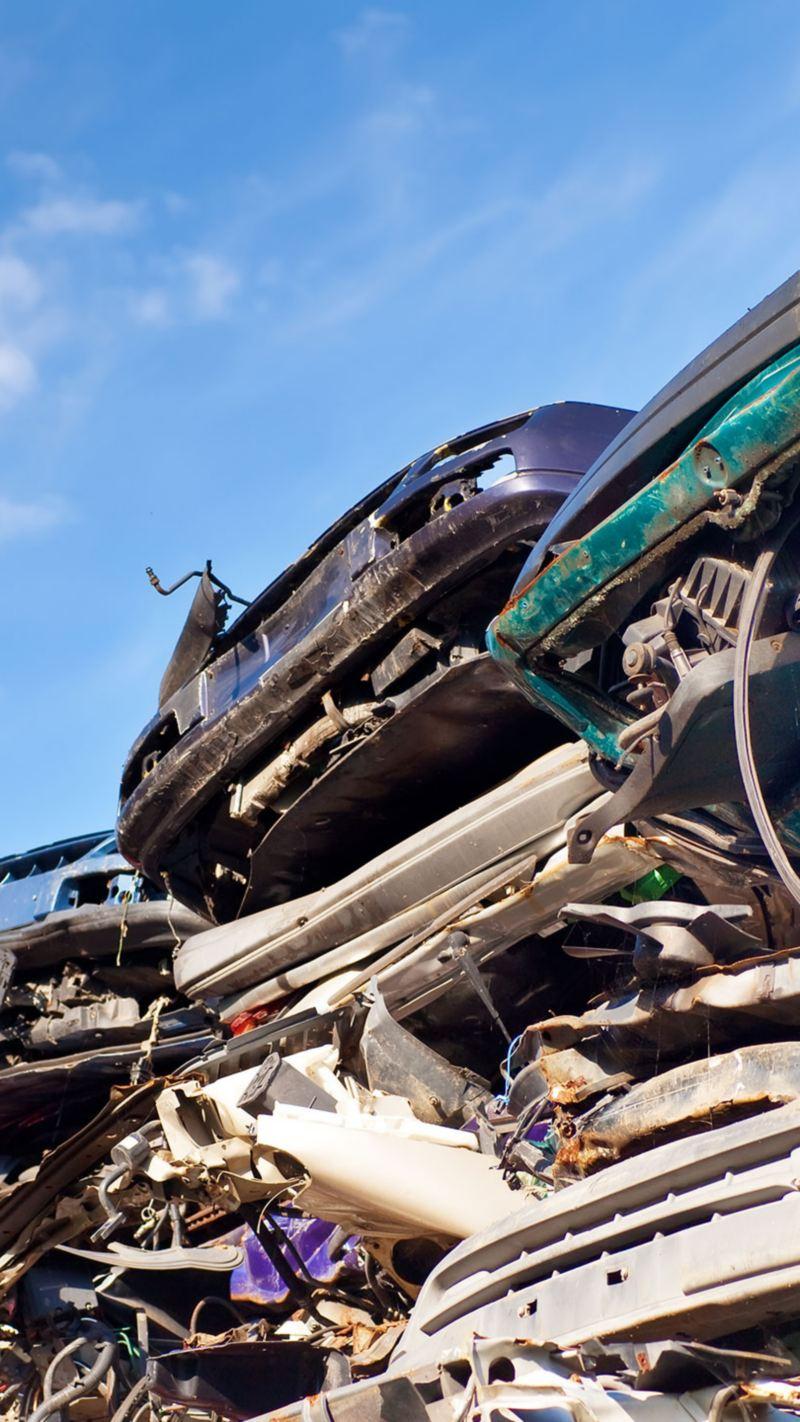 Proceso de Reciclaje y reutilización de los automóviles de Volkswagen México
