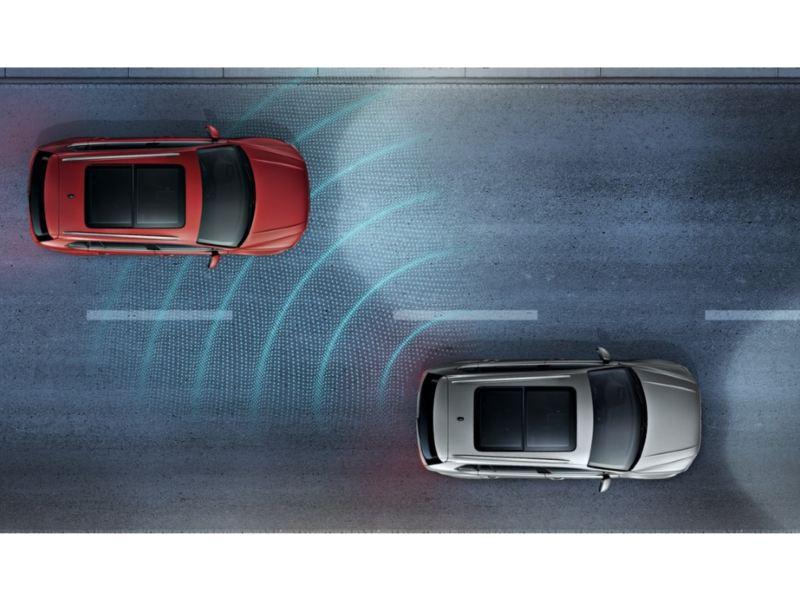 車側盲點警示系統*