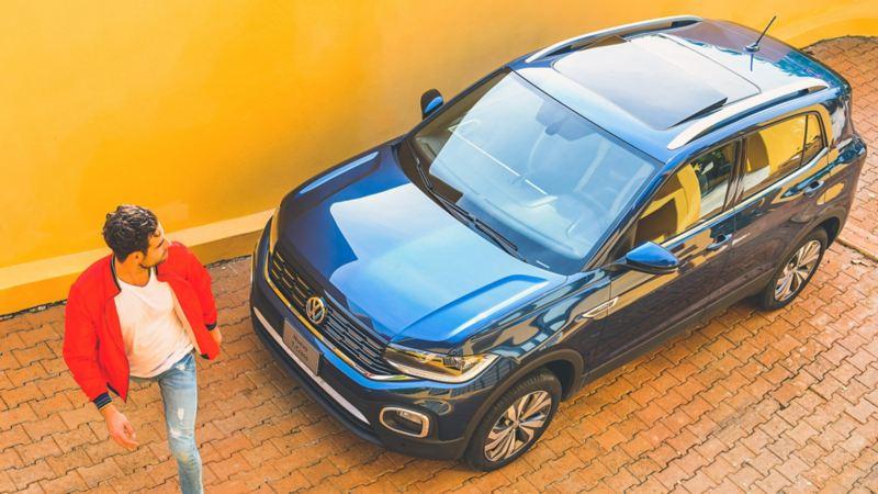 Rieles en toldo cormados en Nuevo T-Cross de Volkswagen