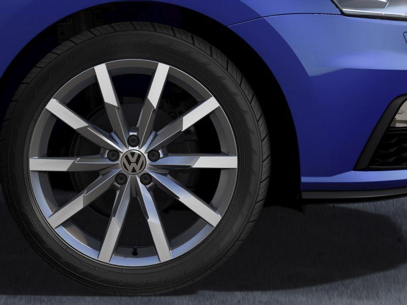 Rin de 16 pulgadas y diseño Portago de Nuevo Polo VW 2020