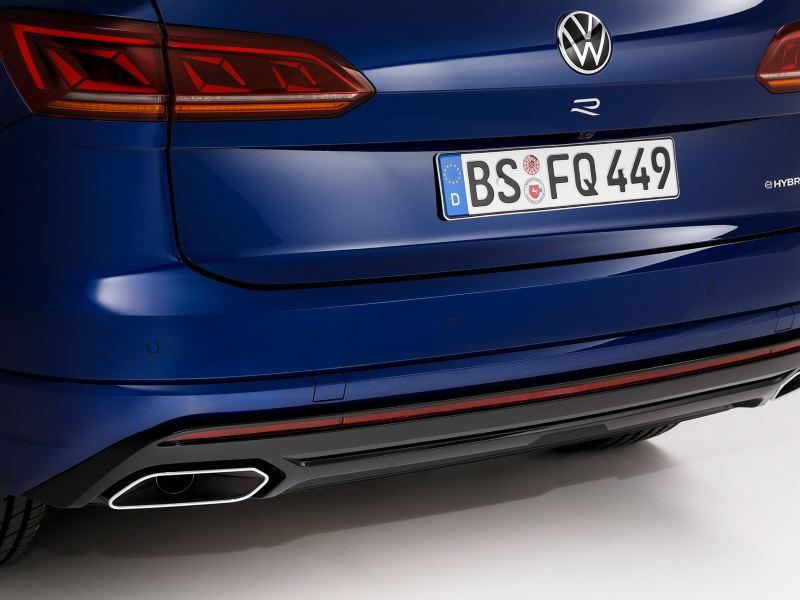 VW Touareg R Heckklappe und Stossstange
