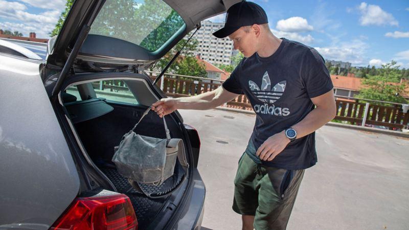 Bagasjeromsmatte tilbehør til bil