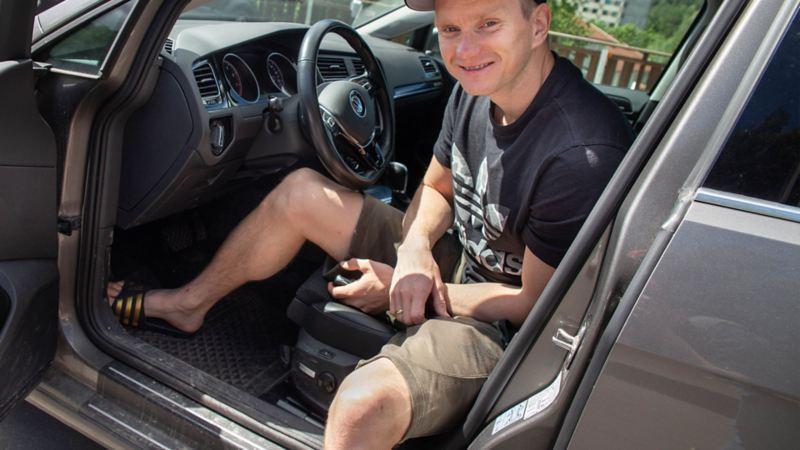 Terskelbeskyttelse til bil