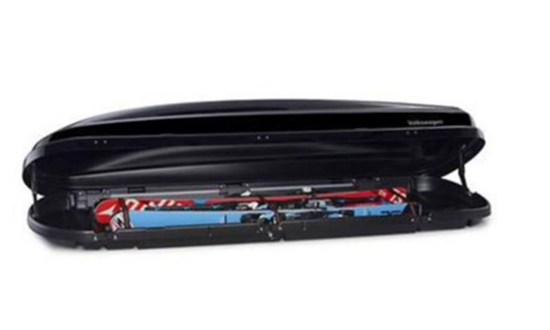 Roof box, Comfort, 460 litres, high-gloss black