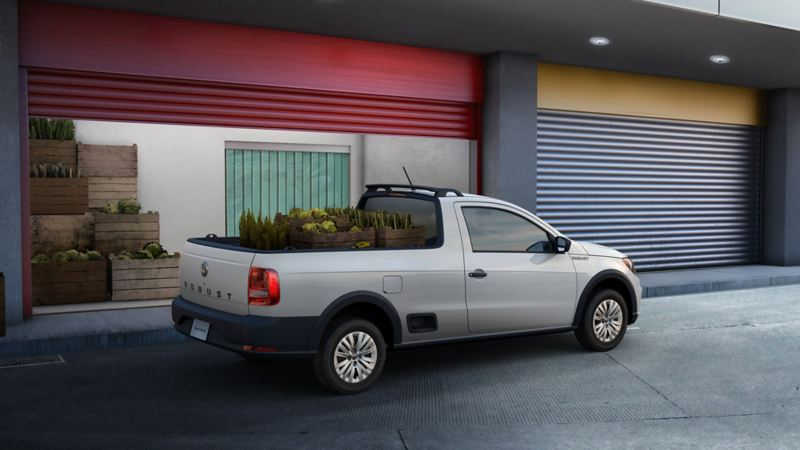Caja de carga camioneta pick up Saveiro Robust