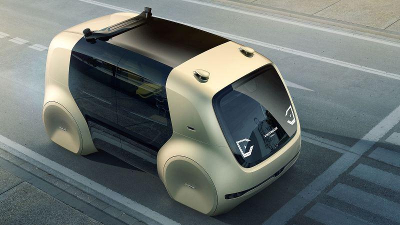 SEDRIC concept car du groupe Volkswagen