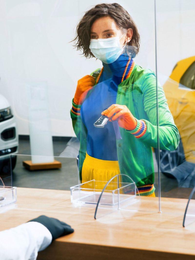 Medidas de seguridad de Volkswagen para brindarte mayor seguridad al visitar tu Concesionaria más cercana