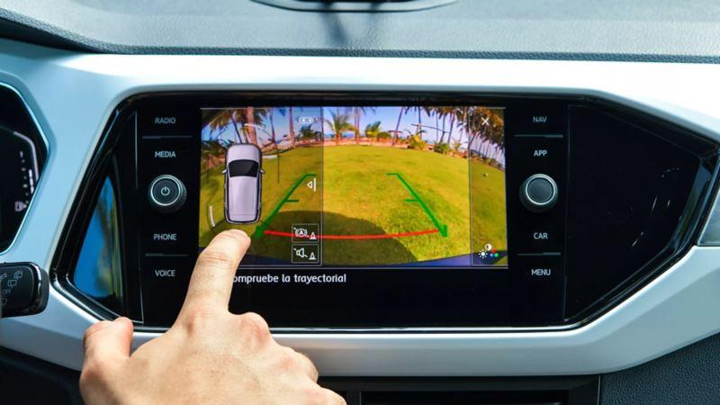 T-Cross - Camioneta segura con detección de cansancio, cámara de visión trasera, 6 bolsas de aire