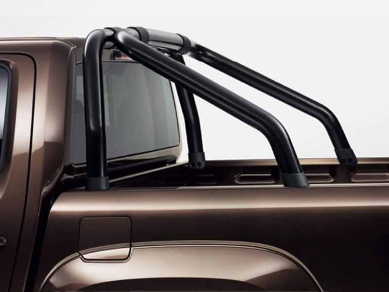 Amarok rear styling bars - black
