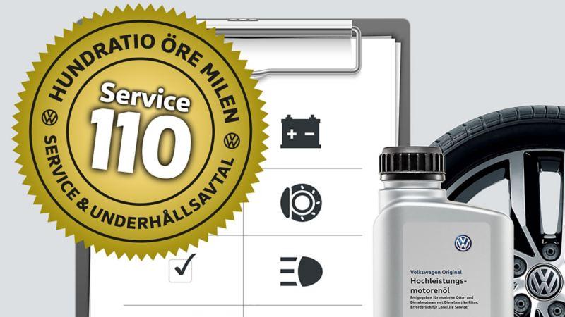 Service för 110 öre/milen