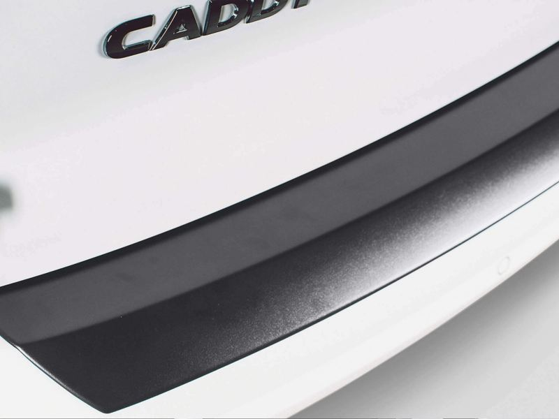 VW Caravelle rear bumper protector