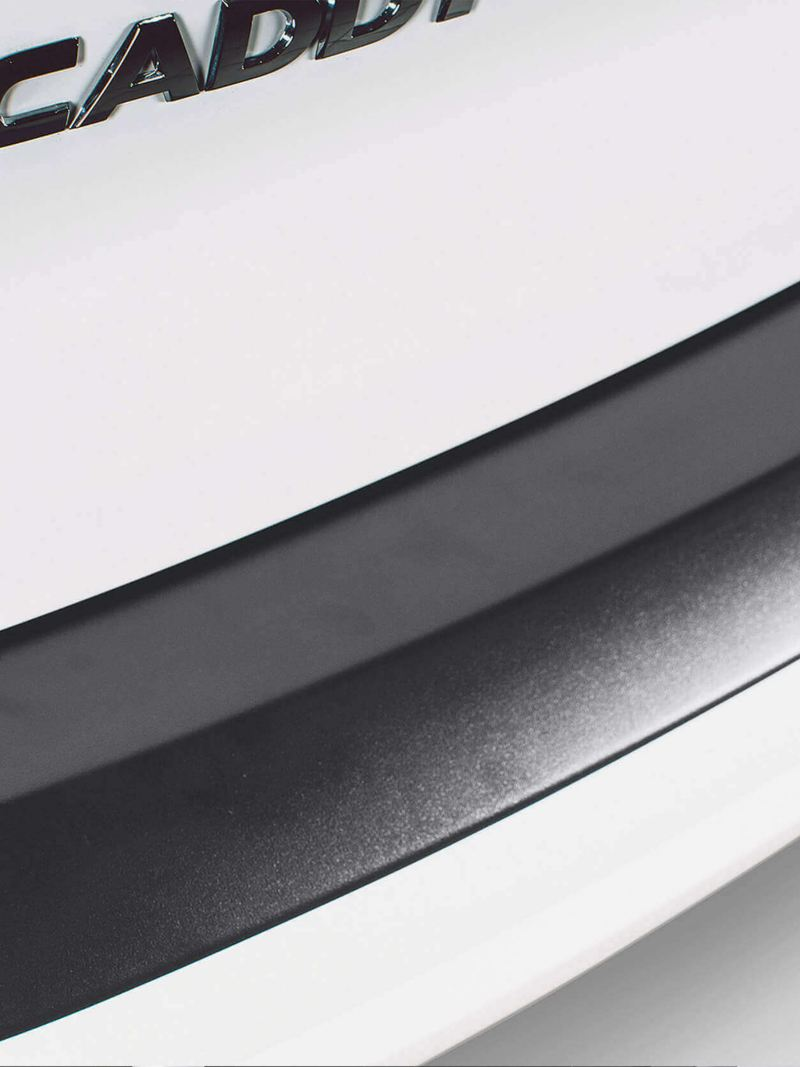 VW Caravelle rear bumper protector