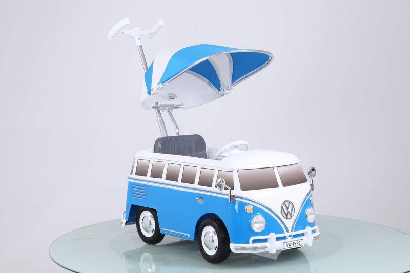 Blue Volkwagen T1 Bus toy