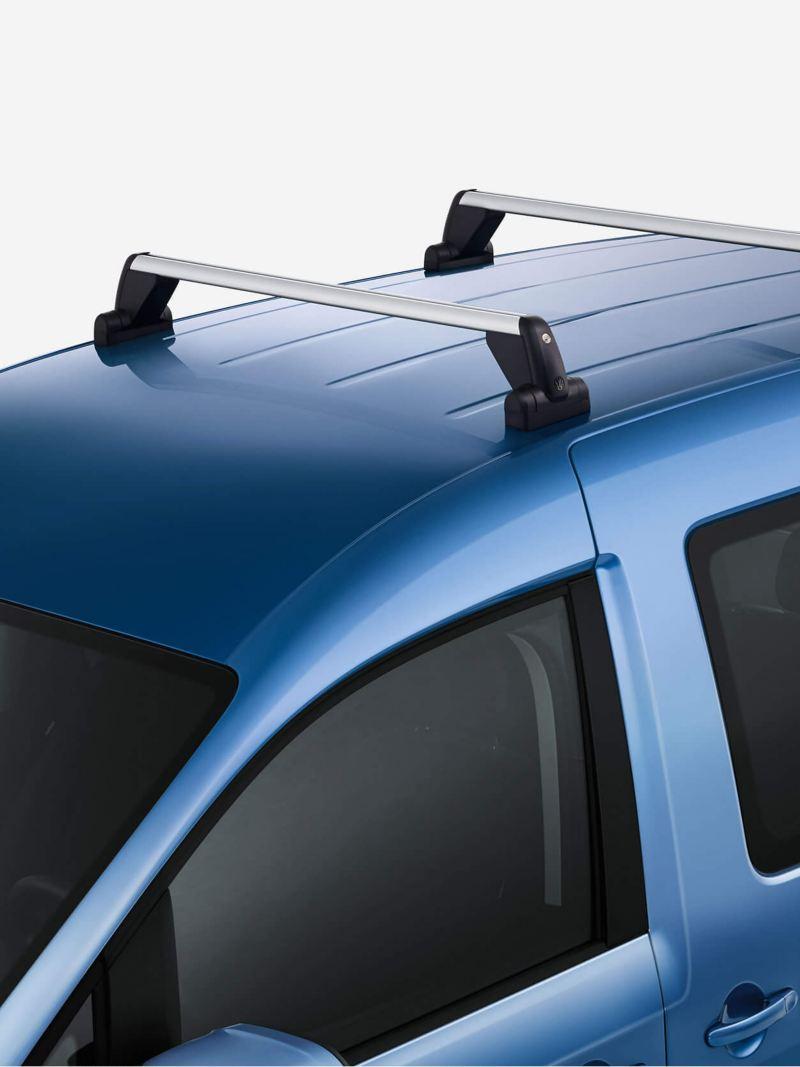 Roof bars for roof rails