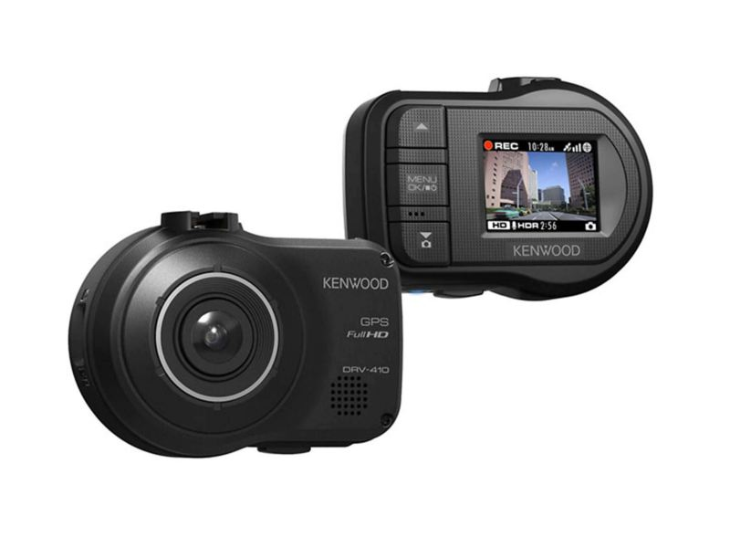 Kenwood dashboard camera with advance driver assistance