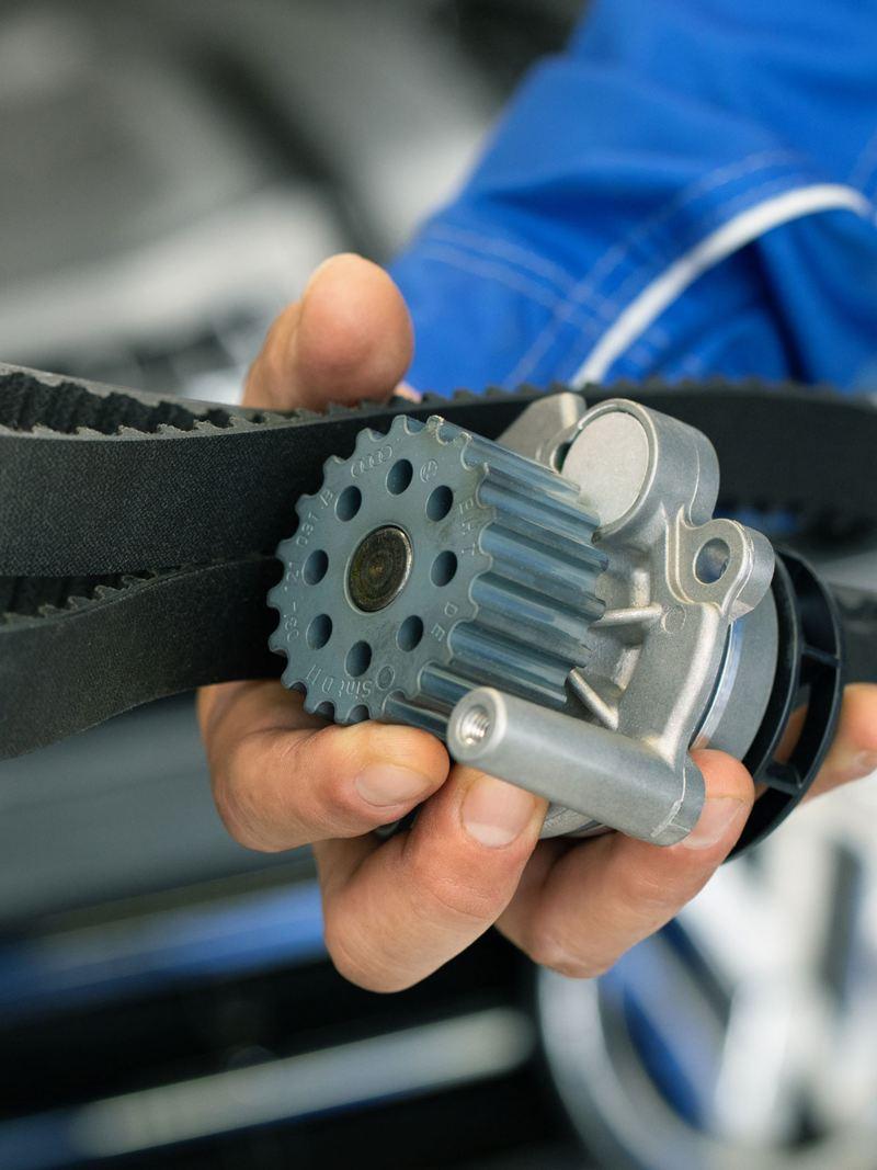 genuine Volkswagen toothed belt