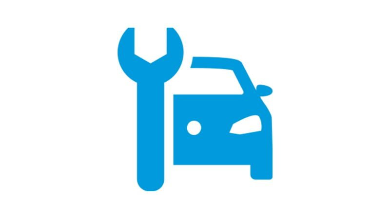 Spanner and car icon
