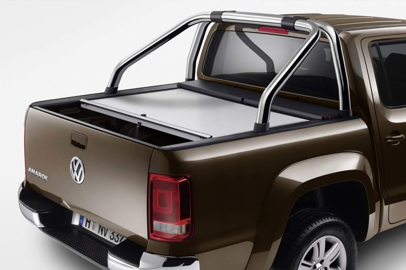 VW approved accessories roll lock cover on Amarok pickup