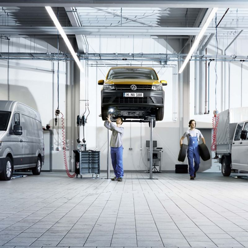 Onderhoud en Service van Volkswagen Bedrijfswagens
