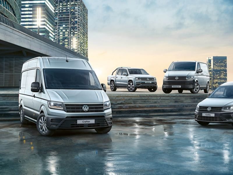 Volkswagen Commercial Vehicles range