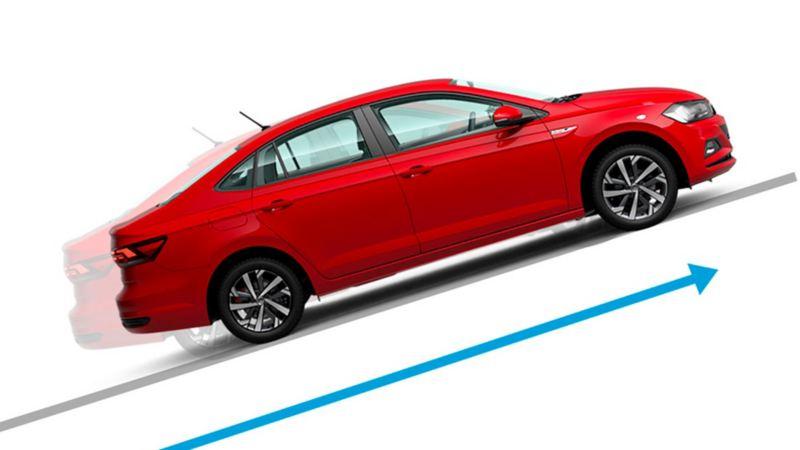 Sistema HHC en Nuevo Virtus de Volkswagen