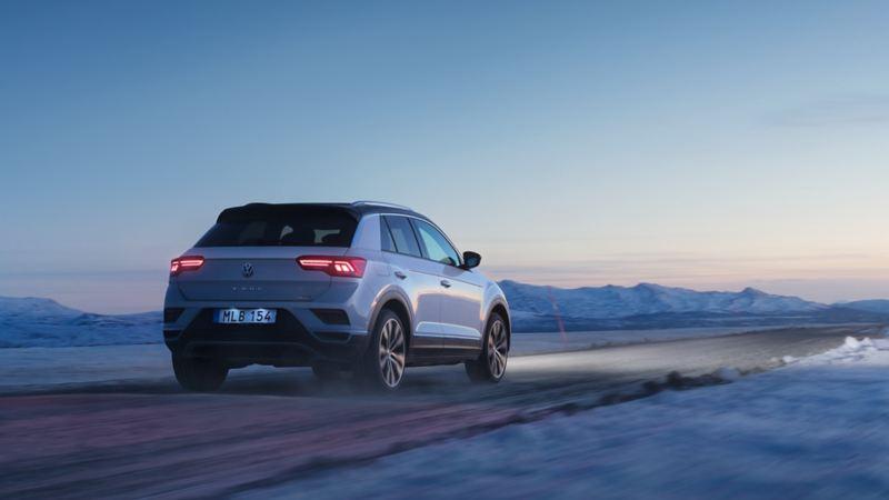 Volkswagen T-Roc i vintermiljö
