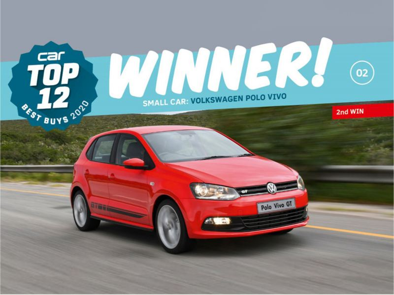 Volkswagen won three awards at the Car Magazine  Top 12 Best Buys Awards
