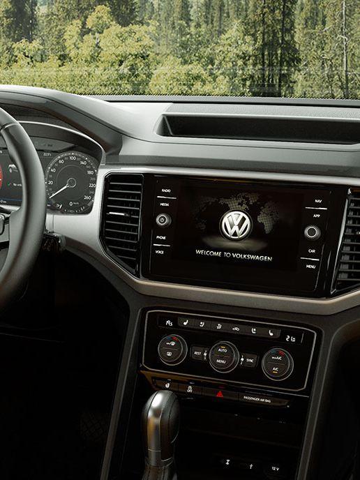 L'intérieur du Volkswagen Atlas