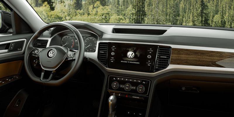 Interior of the VW Atlas