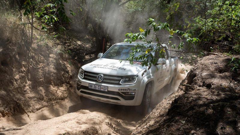 Världens största offroadtävling i Afrika: The Spirit of Amarok. Här är det 100 % Volkswagen Amarok som gäller.