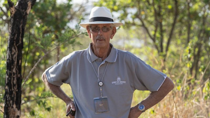 Rally legend Sarel van der Merwe