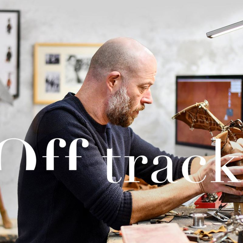Off track Stephane le sculpteur