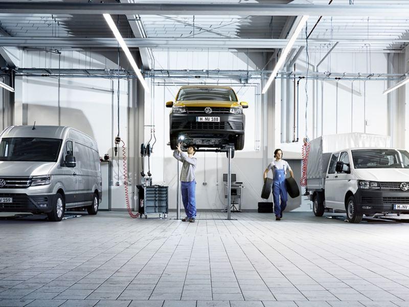 volkswagen comerciales servicio posventa