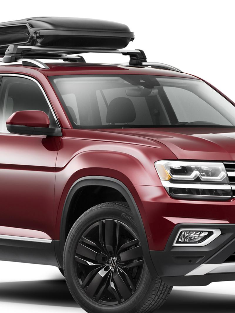 "Vw Atlas car storage, link out to VW ""accessories"" page"