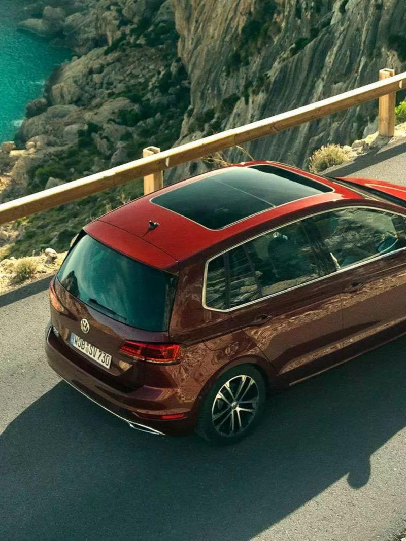 Design extérieur de la Nouvelle Golf Sportsvan