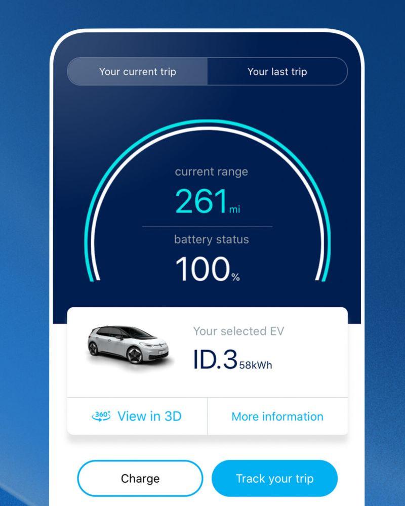Volkswagen EV Check app