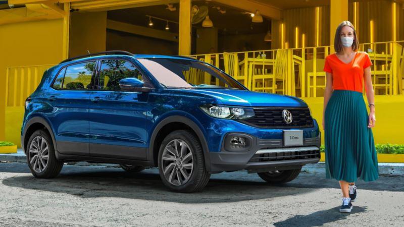 Compra un SUV T-Cross 2020 con el precio especial en las promociones VW de Octubre