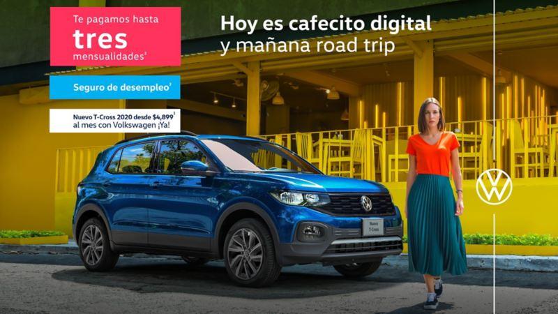 Precio especial de T-Cross, el mejor SUV de Volkswagen en promociones de abril de VW