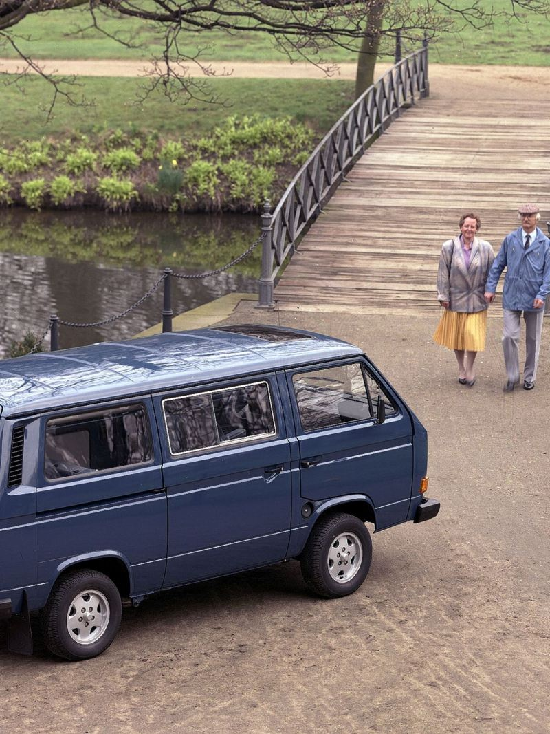 Multivan T3 w parku