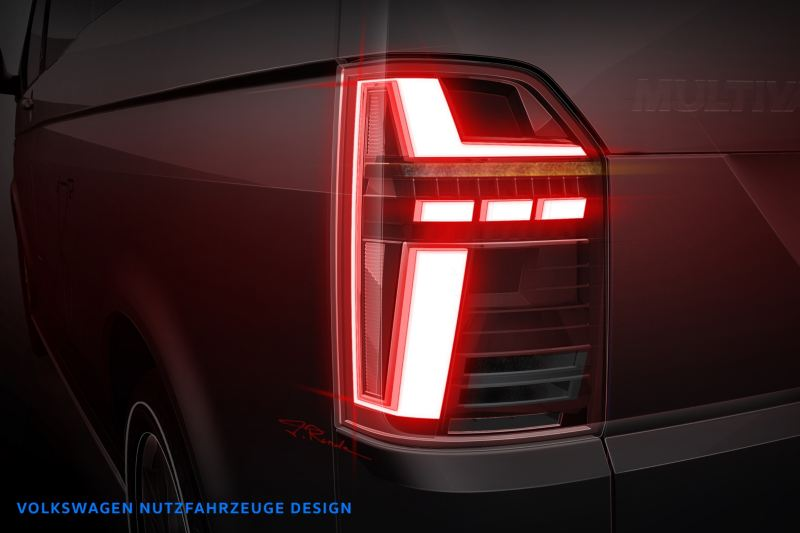 Volkswagen Utilitaires Multivan 6.1 feu arrière gauche