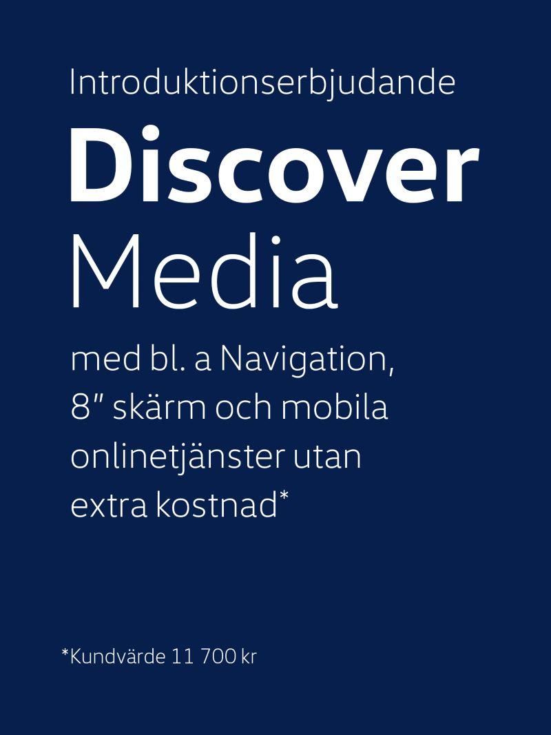 Introduktionserbjudande Discover Media ingår