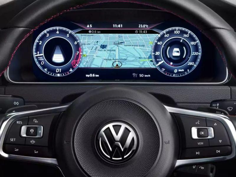 Affichage numérique Active Info Display de la Golf GTI
