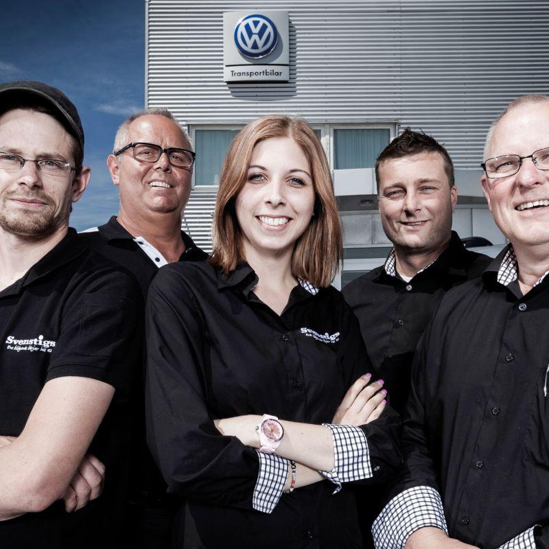 Team Transportbilar hos Svenstigs bil.