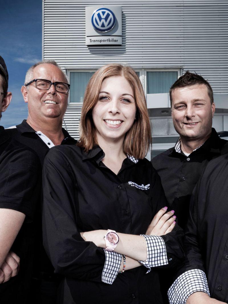 Anställda hos Svenstigs Bil Team Transportbilar