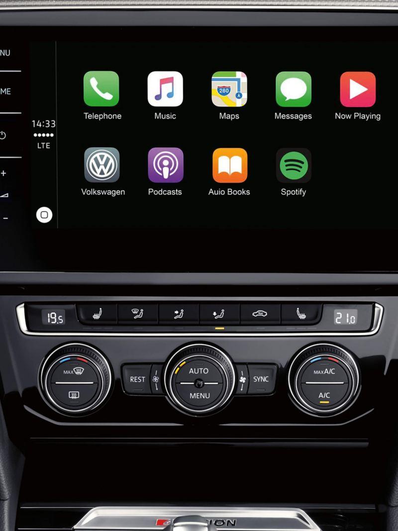 Digital dashboard app displays