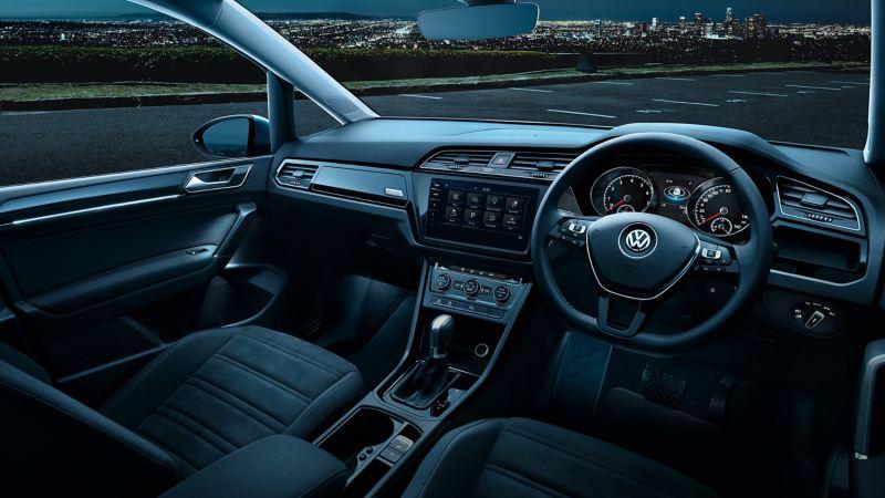 Internal shot of a Volkswagen car