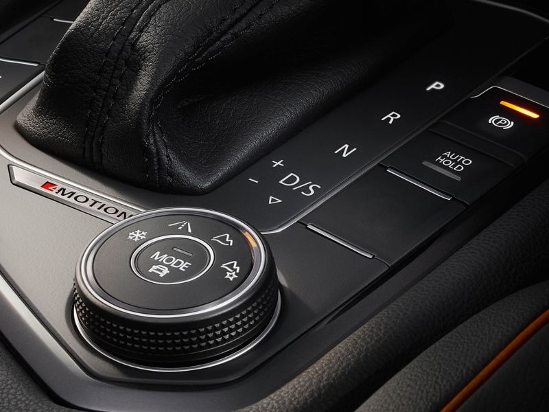 Image of dials within the car
