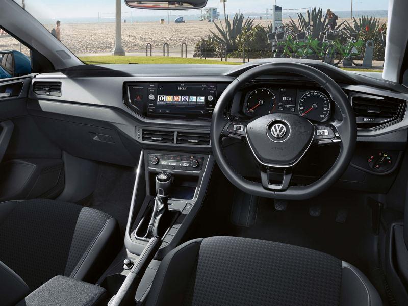 Shot of a Volkswagen dashboard