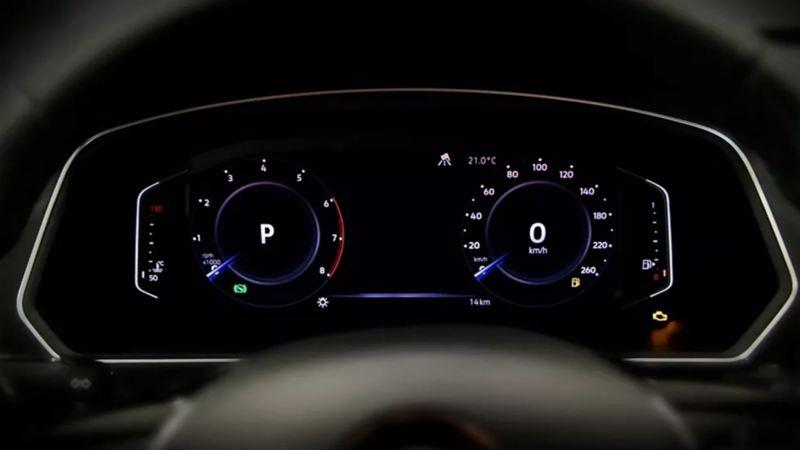 Tiguan 2021 Volkswagen cuenta con tecnología Digital Cockpit, Wireless App-Connect y cargador inalámbrico para smartphone